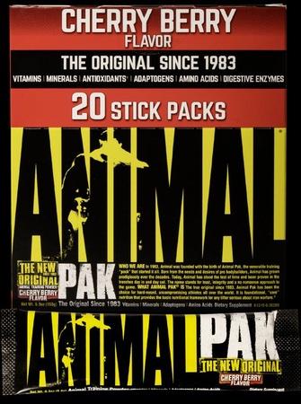 Universal Animal Pak Stick Packs Cherry Berry - 20 Packs