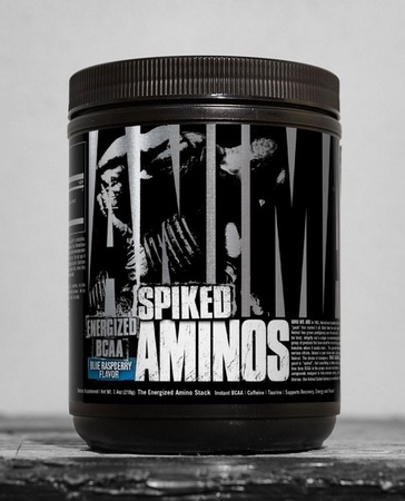 Universal Animal Spiked Aminos Blue Raspberry - 30 Servings