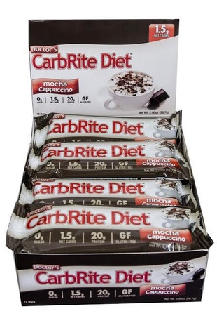 Universal Doctor'S Carbrite Diet Bar Mocha Cappuccino - 12 Bars