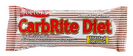Universal Doctor'S Carbrite Diet Bar Toasted Coconut - 12 Bars