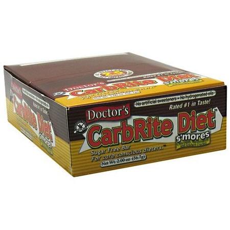 Universal Doctor'S Carbrite Diet Bar Smore's - 12 Bars