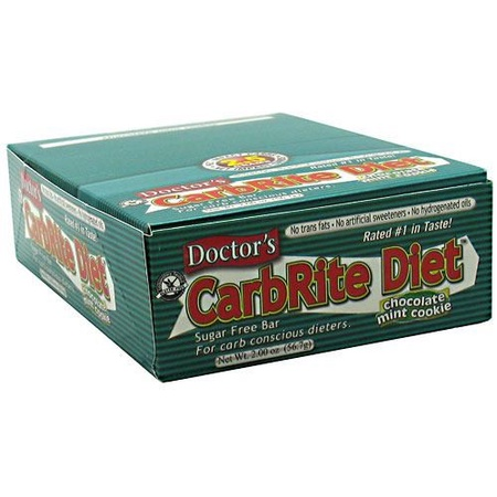 Universal Doctor'S Carbrite Diet Bar Chocolate Mint - 12 Bars