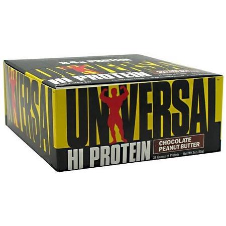 Universal Hi Protein Bar Chocolate Peanut Butter - 16 Bars