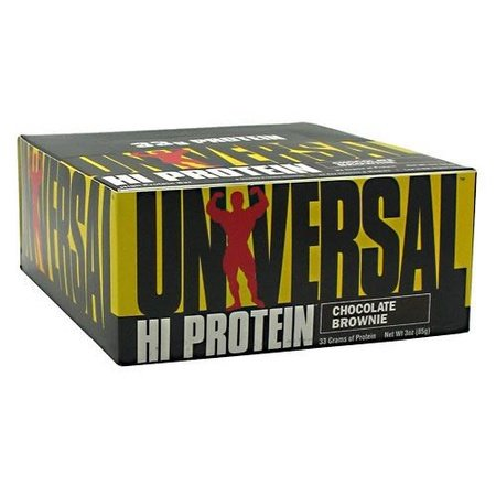 Universal Hi Protein Bar Chocolate Brownie - 16 Bars