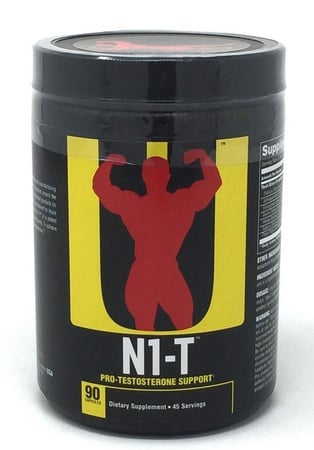Universal N1-T Natural Testosterone Booster - 90 Cap