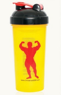 Universal Shaker Bottle - Yellow