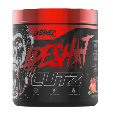 Primeval Labs / Untamed Labs Apesh*t Cutz Strawberry Peach - 40 Servings