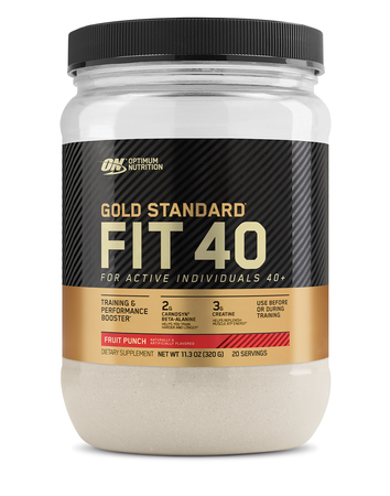 Optimum Nutrition Gold Fit 40 Training & Performance Booster Fruit Punch - 20 Servings
