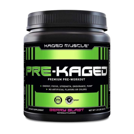 Kaged Muscle PRE-KAGED Berry Blast - 20 Servings
