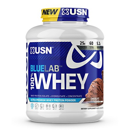 USN BlueLab 100% Whey Protein Chocolate - 4.5 Lb