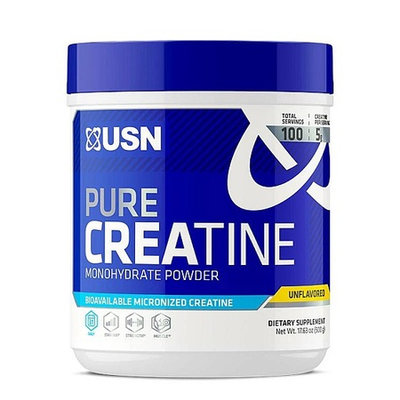 USN Pure Creatine Monohydrate Micronized - 500 Grams