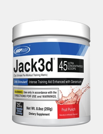 Usp Labs Jack3d Fruit Punch - 45 Servings