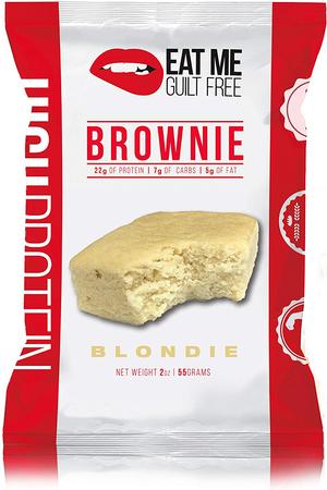 Eat Me Guilt Free Protein Brownie Vanilla Blondie - 12 Brownies