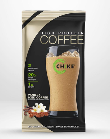 Chike Nutrition High Protein Coffee  Vanilla Iced Coffee - 12 Packets
