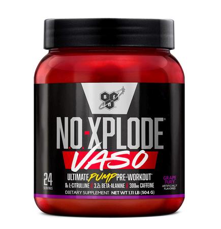 Bsn No-Xplode Vaso Grape Fury - 24 Servings