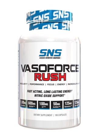 SNS Serious Nutrition Solutions VasoForce Rush - 100 Cap *New formula