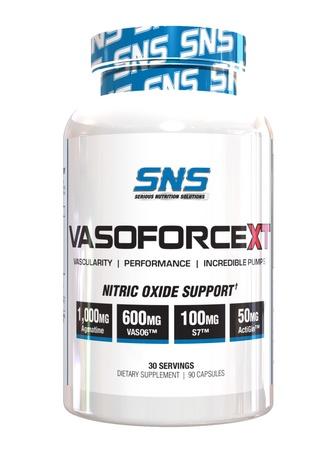 SNS Serious Nutrition Solutions VasoForce XT - 30 Servings (90 Capsules)  *New Formula
