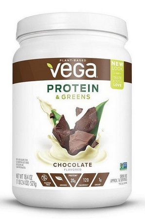 Vega Protein & Greens Chocolate - 16 Servings