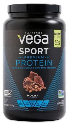 Vega Sport Premium Protein Powder Mocha - 19 Servings