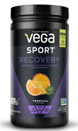 Vega Sport Recovery Tropical - 20 Servings *Best by date 10/20