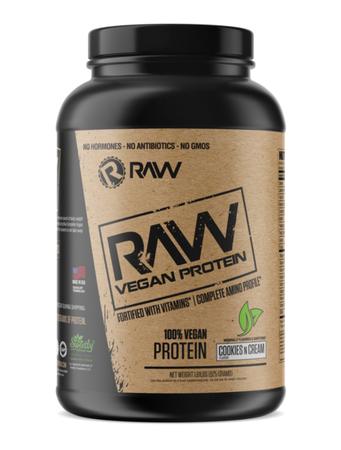 Raw Nutrition Vegan Protein  Cookies n Cream - 25 Servings