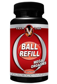 Vigor Labs Ball Refill - 30 Cap