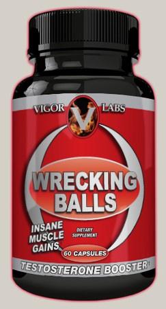 Vigor Labs Wrecking Balls - 60 Cap
