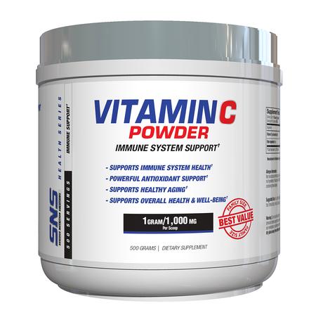 SNS Serious Nutrition Solutions Vitamin C Powder - 500 Grams