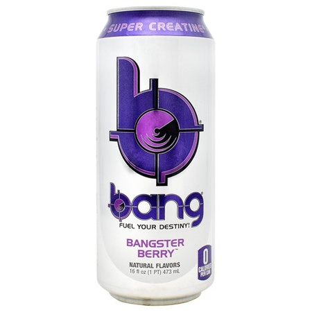 Vpx Bang Energy Drinks Bangster Berry - 12 x 16 Oz Cans