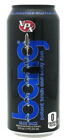 Vpx Bang Energy Drinks Blue Razz - 12 x 16 Oz Cans