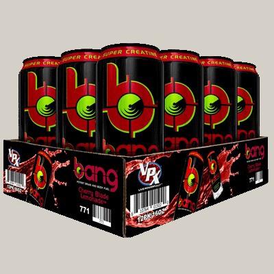 Vpx Bang Energy Drinks Cherry Blade Lemonade - 12 x 16 Oz Cans