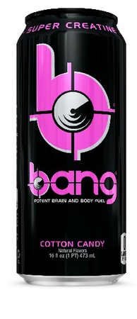 Vpx Bang Energy Drinks Cotton Candy - 12 x 16 Oz Cans