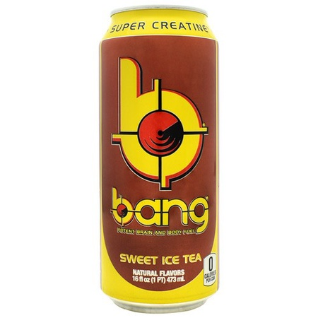 Vpx Bang Energy Drinks Sweet Tea - 12 x 16 Oz Cans