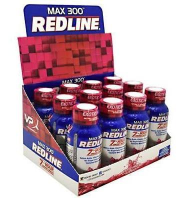 Vpx Redline Max 300 7 Hour Energy 2.5oz Peach Mango - 12 Btls