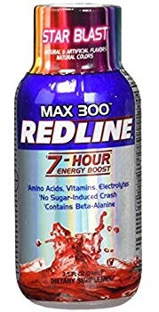 Vpx Redline Max 300 7 Hour Energy 2.5oz Star Blast - 12 Btls