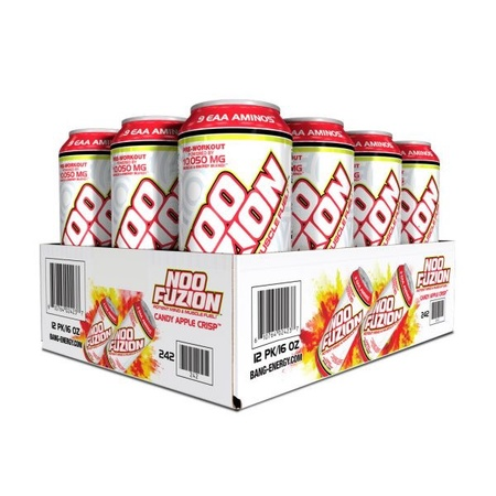 Vpx Redline NOO-Fusion  Candy Apple Crisp - 12 Cans