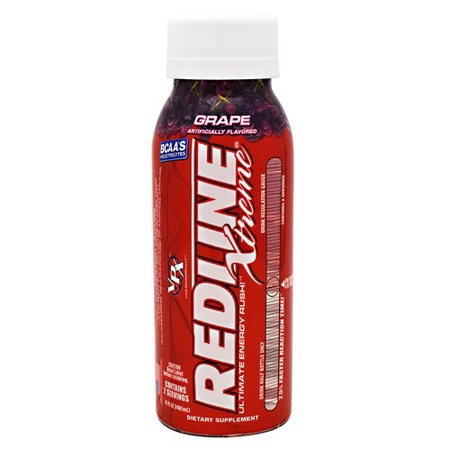 Vpx Redline Xtreme Rtd 8 oz Grape - 24 Btls