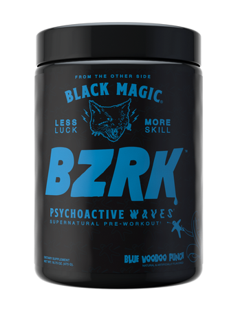 Black Magic Supply BZRK Blue Voodoo Punch - 25 Scoops *LIMITED EDITION
