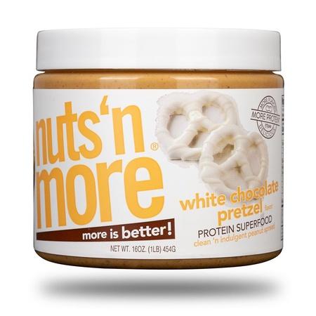 Nuts n More White Chocolate Pretzel - 16 Oz