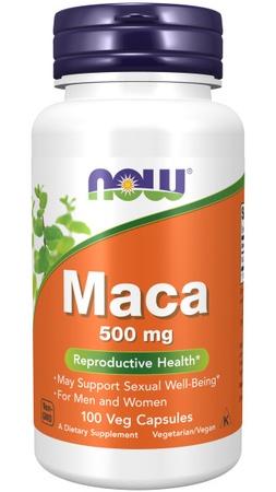 Now Foods Maca 500 Mg - 100 Cap