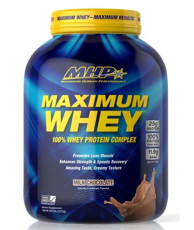 MHP Maximum Whey Chocolate - 5 Lb  *expiration date 6/21