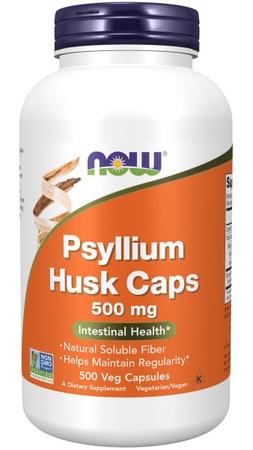 Now Foods Psyllium Husk 500 Mg - 500 Cap