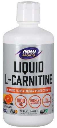 Now Foods L-Carnitine Liquid 1000 Mg Citrus - 32 Oz