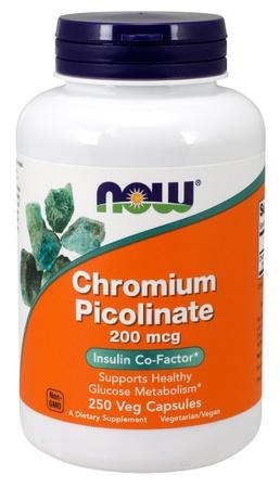 Now Foods Chromium Picolinate 200 Mcg - 250 Cap