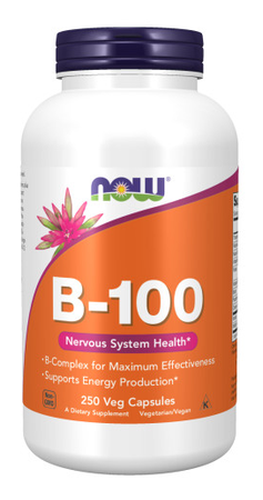 Now Foods B-100 - Vitamin B complex - 250 Cap