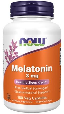 Now Foods Melatonin 3 Mg - 180 Cap