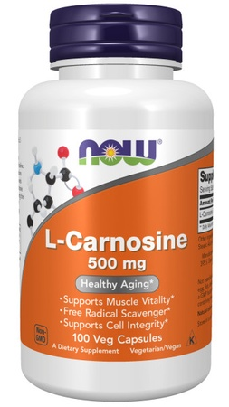 Now Foods L-Carnosine 500 Mg - 100 VCap