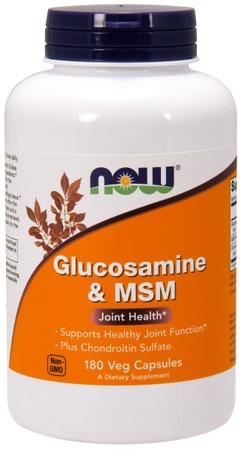 Now Foods Glucosamine & MSM - 180 Cap