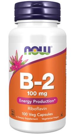 Now Foods B-2 100 Mg - 100 Cap