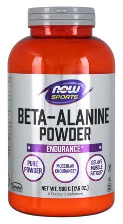 Now Foods Beta Alanine Powder - 500 Gram